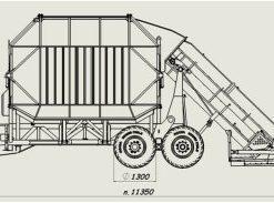 Peatmax mehāniskais frēzkūdras savācējs JMK-40