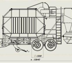 Peatmax pneimatiskais frēzkūdras savācējs JIK-40